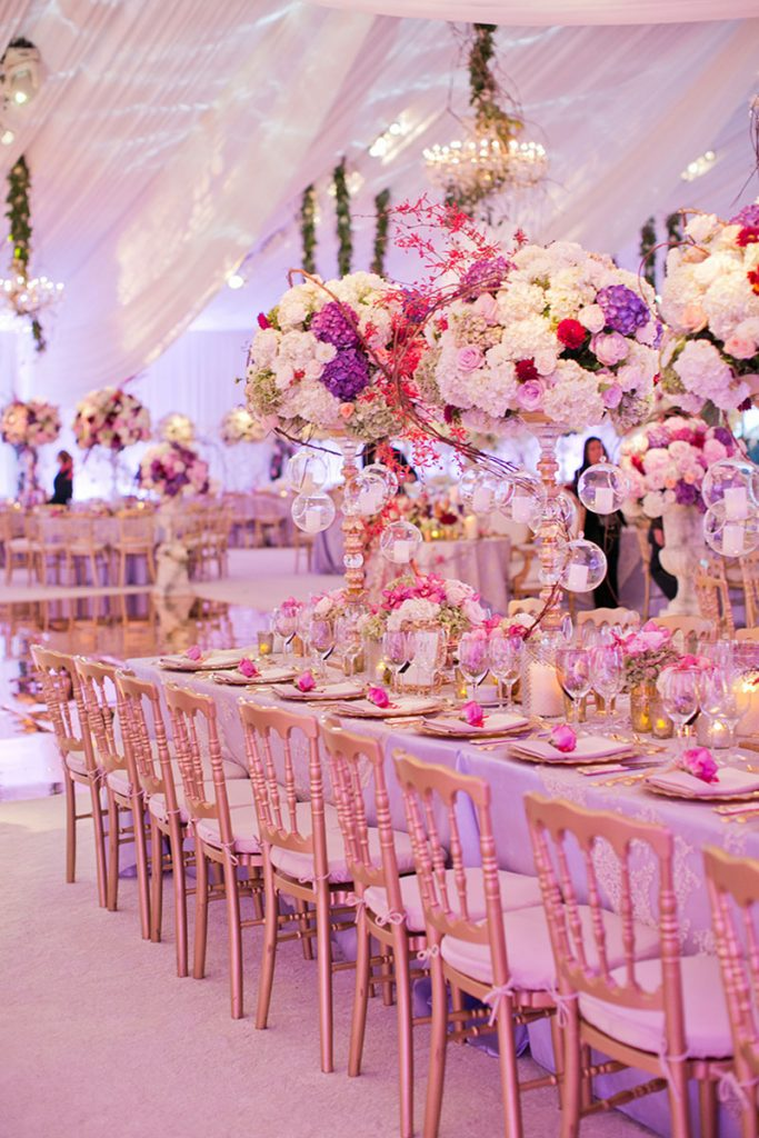 event management for wedding reception